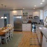 Open family kitchen