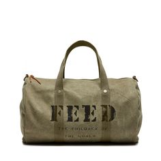 Feed Project Utility Duffle $75