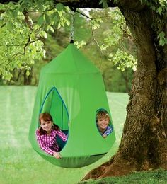Nylon Canvas HugglePod HangOut With LED Lights - contemporary - outdoor swingsets - by HearthSong & London Underground Tube Station Tent for Kids Pop Up Play Tent ...