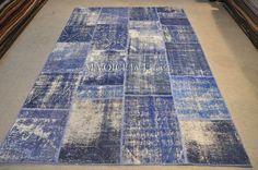 indigo Indigo, Carpet, Rugs, Handmade, Home Decor, Scrappy Quilts, Farmhouse Rugs, Hand Made, Decoration Home