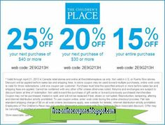 Childrens Place Coupons Ends of Coupon Promo Codes JUNE 2020 ! Great Clips Coupons, Best Buy Coupons, Free Printable Coupons, Free Printables, Grocery Coupons, Mcdonalds Coupons, Pizza Coupons, Golden Corral Coupons, Michaels Coupon