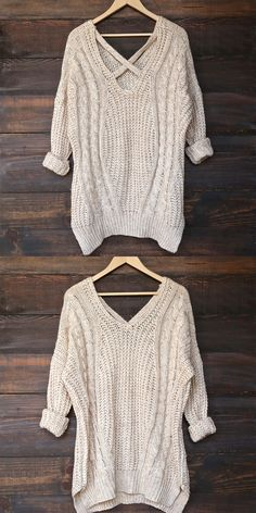 - knit cross back - side slit - long sleeves - acrylic/poly blend - imported - listing is for olive - modeled pictures for fit purposes