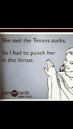 Lol texans