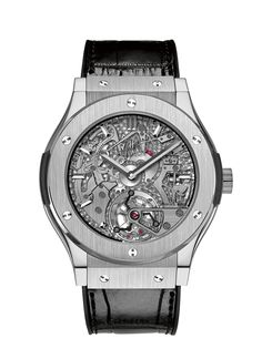 Hublot Classic Fusion Tourbillon Cathedral Minute Repeater Titanium @DestinationMars