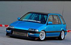 88-91 Honda (EF) Wagon. AWD+Wagon!!