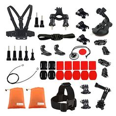 Kitway Accessories Kit for Gopro Hero 4 Session