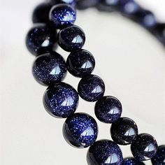 Gorgeous blue sandstone bracelet set. This delicate bracelet will make any outfit pop.