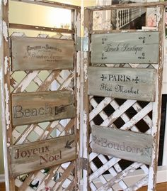 The Polka Dot Closet: Painted Signs, No Skill Needed!