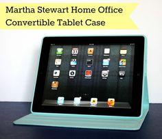 Martha Stewart Home Office iPad case giveaway... plus you win a cute wristlet too!