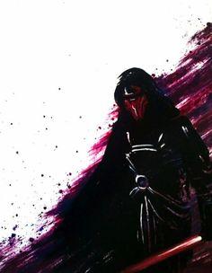 Star Wars Paintings /// by Cassie Poe, via Behance