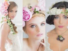 Fab Flower Crowns and Floral Wreaths