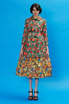 Happy clothes from Marc Jacobs #dress #print #marc jacobs