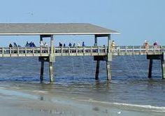 The Saint Simons Island Pier. It's a great place to watch folks catch a fish or try their hand at crabbing on any given day.