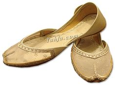 Ladies Khussa- Silver | Pakistani Indian Khussa Shoes
