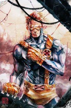"""failed-mad-scientist: """"Cyclops - Tony Moy """""""