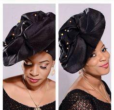 Attaché foulard headwrap Gélé marétêt