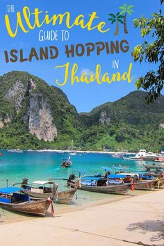 Every fancied travelling Asia? Let this ultimate guide to island hopping in Thailand inspire you...