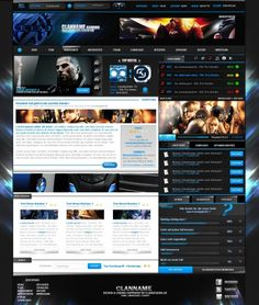 Blockbuster-Template WS - Templates - ClanDesigns