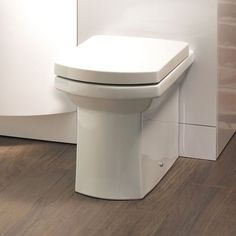 £149.95 Isobelle Back to Wall Toilet and Soft Close Seat