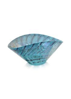 Yalos Murano Belus - Plat en verre de Murano turquoise