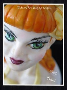 Pin up 2 - by CécileBeaud @ CakesDecor.com - cake decorating website