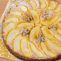 Oh my! German Apfel Kugel (apple cake)! My mother used to translate recipes from a German recipe book my father had, and I have surely tasted this cake at the home of my dear oma many years ago, so this is a must!