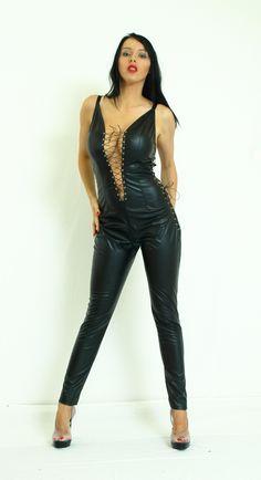 Black soft eco-leather overalls http://www.obuwie-erotyczne.pl/item.html/id/4091325821