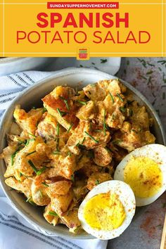 Our zesty Spanish Potato Salad is a flavorful, easy potato salad recipe that's perfect as a side dish for BBQ or in your picnic basket. Every bite is bold, zesty, and so delicious! Simple to make in just 30 minutes. via @thesundaysupper Side Dishes For Bbq, Potato Side Dishes, Best Side Dishes, Vegetable Side Dishes, Tasty Potato Recipes, Potato Salad Recipe Easy, Pasta Recipes, Salad Recipes, Easy Baked Potato