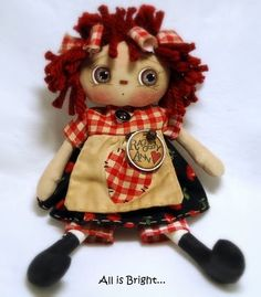 All is Bright: A Quicky Raggedy Doll