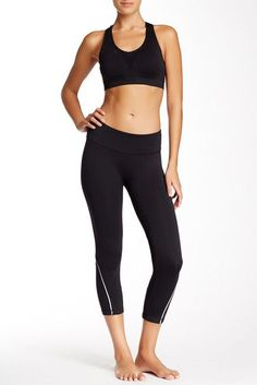 You don't have to be a jogger to love these Racer Yoga Pants Jogger. A tapered fit and relaxed waistband create a pant that will feel just as good as it looks.  ** Check out this great product.
