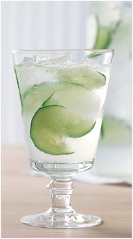 Healthy Drinks – Cucumber Spritzer with 15 Calories