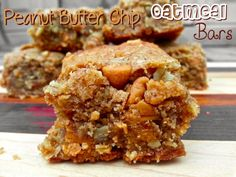 Peanut Butter Chip Oatmeal Bars