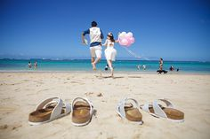 Custom-made Hawaii Wedding Photo Produce by The Sweet Closet