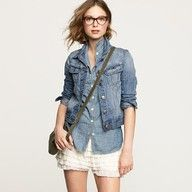 Jean jacket,