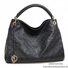 f10c9c66f426 Louis Vuitton M41066 Artsy MM Hobo Bag Monogram Empreinte Leather   Louisvuittonhandbags