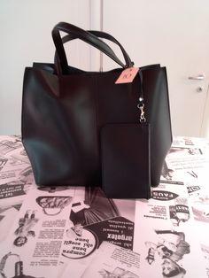 Total black #news #bag #treviso #black #borsa #veneto #handmade