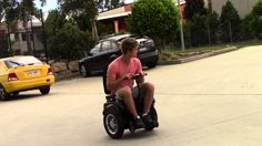 The VIA is the latest electric wheelchair on the market for the thrill…