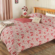 Woodland Block Print Duvet Set | Duvet Covers | ASDA direct