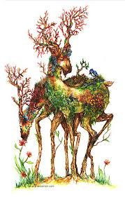 deer art - Google Search