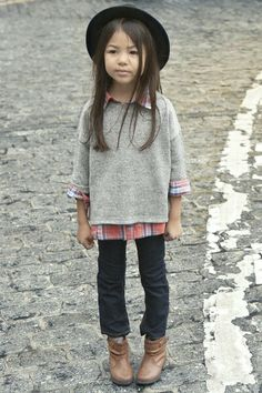 Girl clothes love the layering