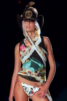John Galliano for Christian Dior Spring Summer 2002 Ready-To-Wear