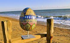 Regency Egg by Elizabeth de Ath
