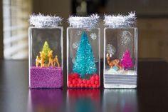 Miniature Waterless Snowglobes