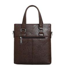 Men PU Business Crossbody Bag Outdoor Handbag Briefcase - US$29.89