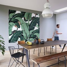 IXXI | Wall Art | Banana Leaf | Medium, Large | Collected by LeeAnn Yare