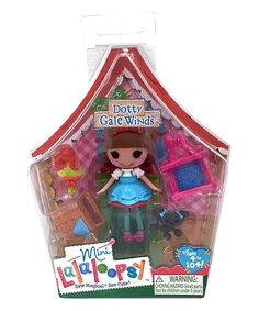 Look at this Lalaloopsy Mini Lalaloopsy Dotty Gale Winds Doll on #zulily today!