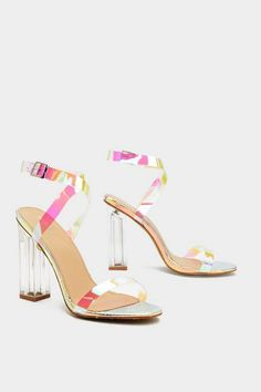 f3d6f0f4eed 16 Best holographic heels images in 2019