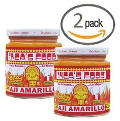 Incas Food Aji Amarillo Paste  Hot Yellow Pepper Paste 75 Oz Jar  Product of Peru Pack of 2 >>> Be sure to check out this awesome product.