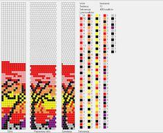 12 around tubular bead crochet rope pattern Bead Crochet Patterns, Bead Crochet Rope, Beading Patterns, Bracelet Crochet, Beaded Bracelets, Beaded Jewelry, Brick Stitch, Loom Beading, Crochet Flowers