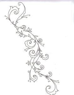 swirly+spiral+writing+tattoos   Swirls and twirls by LBalch86